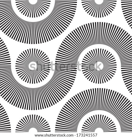 vector monochrome seamless tech