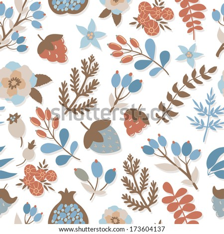 vector floral pattern with