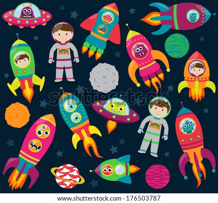 vector collection of cartoon