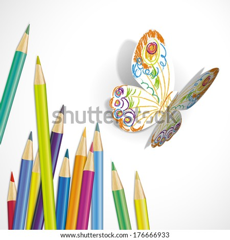vector illustration of a paper
