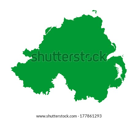 northern ireland vector
