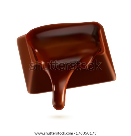 chocolate  vector illustration