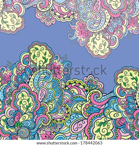 decorative abstract floral