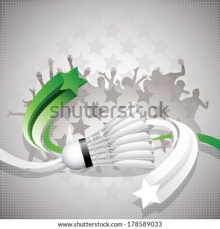 abstract badminton background
