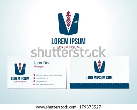 tie lighthouse icon vector