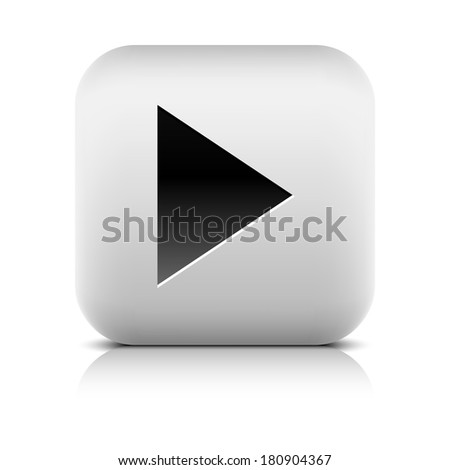 media player icon with play