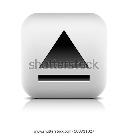 media player icon with eject