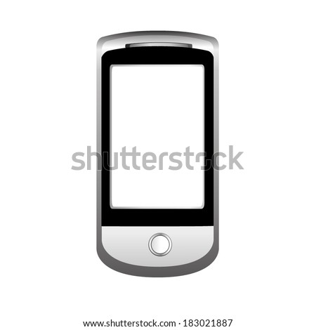 vector illustration of mobile