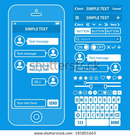 ui elements blueprint design