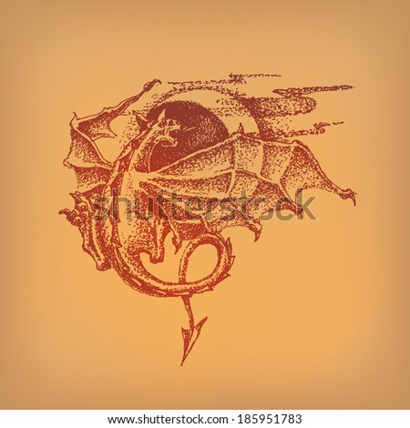 dragon vector format