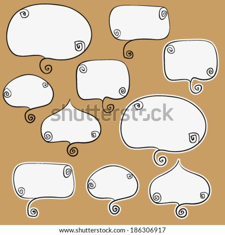 set of some curly speaking