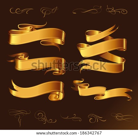 fine line set of golden design