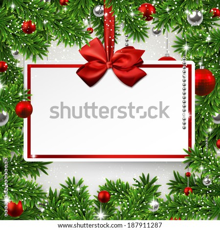 holiday frame background with