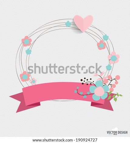 floral bouquets with ribbon