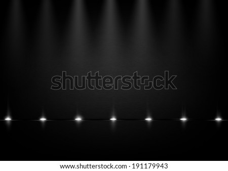 dark background with lights
