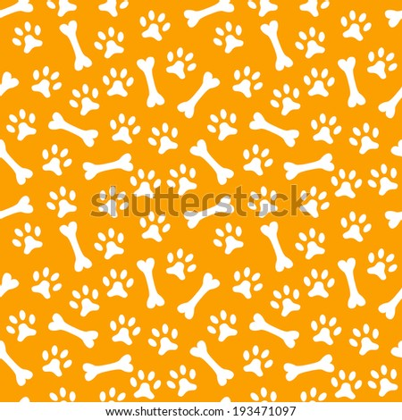 animal seamless vector pattern
