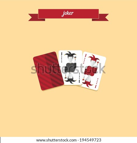 joker poker gambling cards
