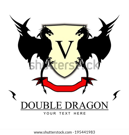 twin black dragons yellow