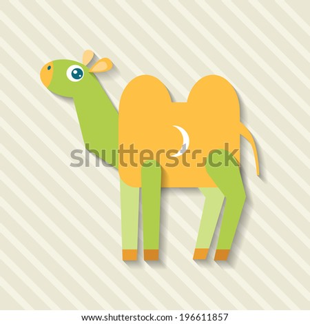 bright flat parts of the camel