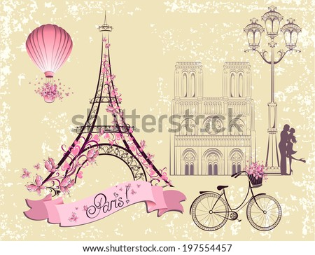 paris symbols and landmarks