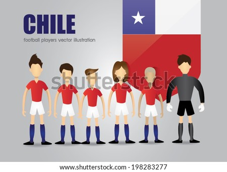 chile soccer team character