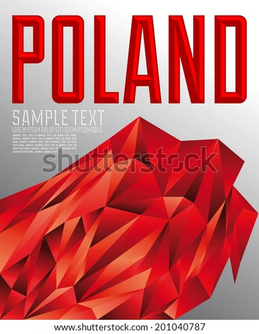 poland   vector geometric
