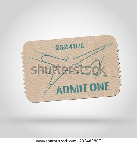 vector vintage ticket   admin