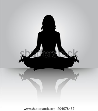 woman meditating  yoga