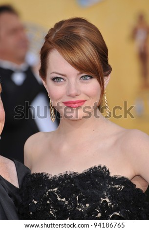 emma stone at the 17th annual