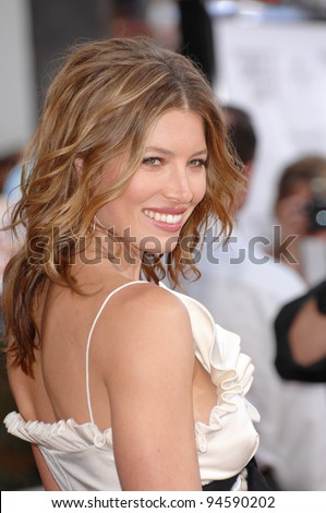 jessica biel at the world
