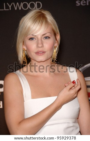 actress elisha cuthbert at the