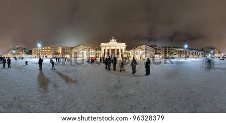 brandenburg gate and pariser