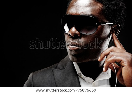 black african bodyguard or