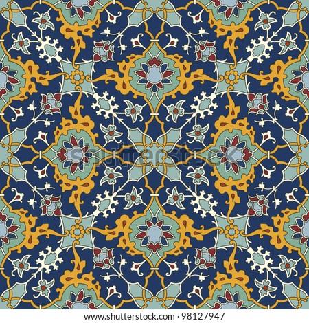 Arabic geometric patterns / Geometric patterns islamic art