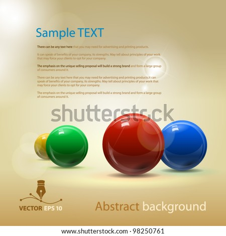 vector abstract background for