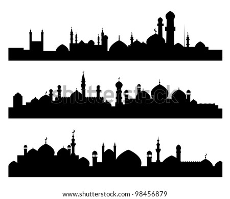 set of muslim cities