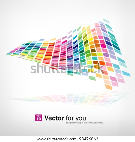 colorful background mosaic