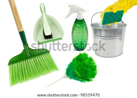 love my green cleaning tools