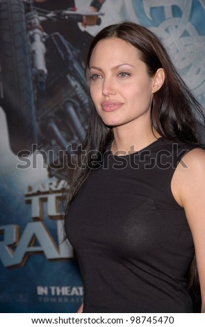 actress angelina jolie at the