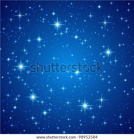 blue abstract background night