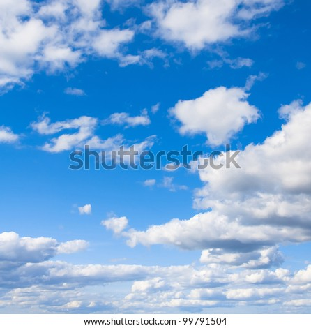 grand skyscape background of