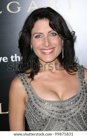 lisa edelstein  at a bvlgari