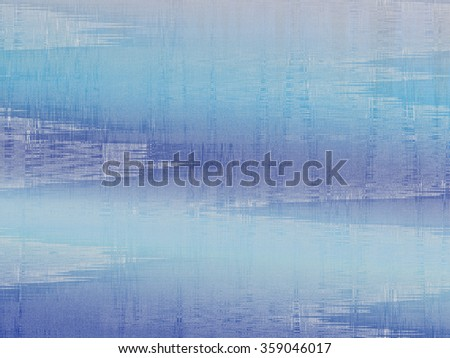 Abstract Watery Asian Background with a Hint of Fabric Texture