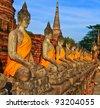 Buddha old - stock photo