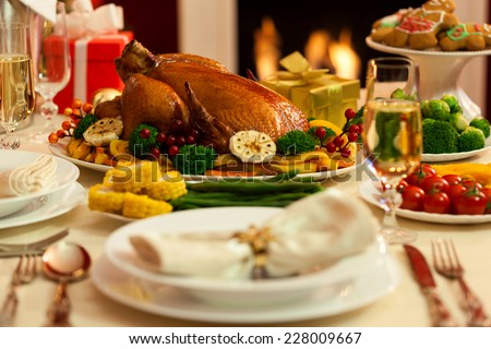 Christmas Turkey Dinner