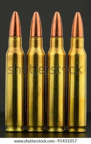 223 copper bullet rifle ammunition