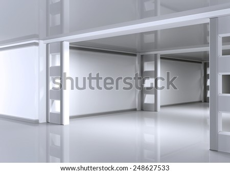 3d architectural background