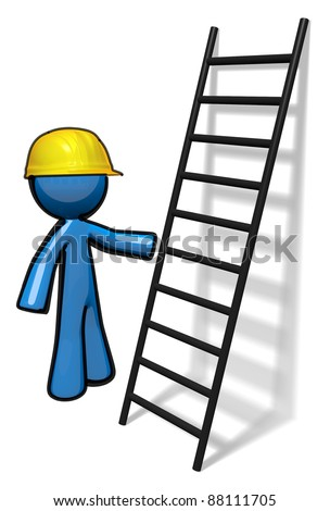 Clipart Ladders Working Stock Vector 101412022 - Shutterstock