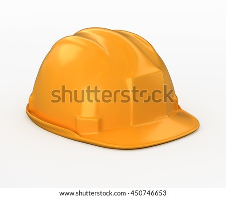 3D illustration of under construction concept with clipping path.