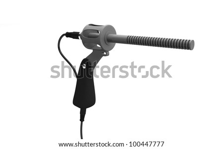 3D Microphone used in TV and film production